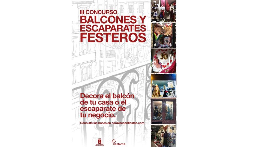 Festejos convoca el III Concurso 'Balcones y escaparates festeros'