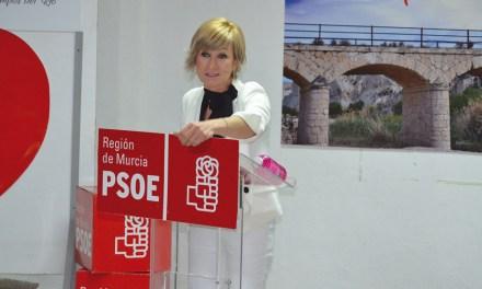 «Nuestra campaña política ha sido durante cuatro años, trabajando por los vecinos día a día», María José Pérez, alcaldesa de Campos del Río y candidata socialista a la reelección