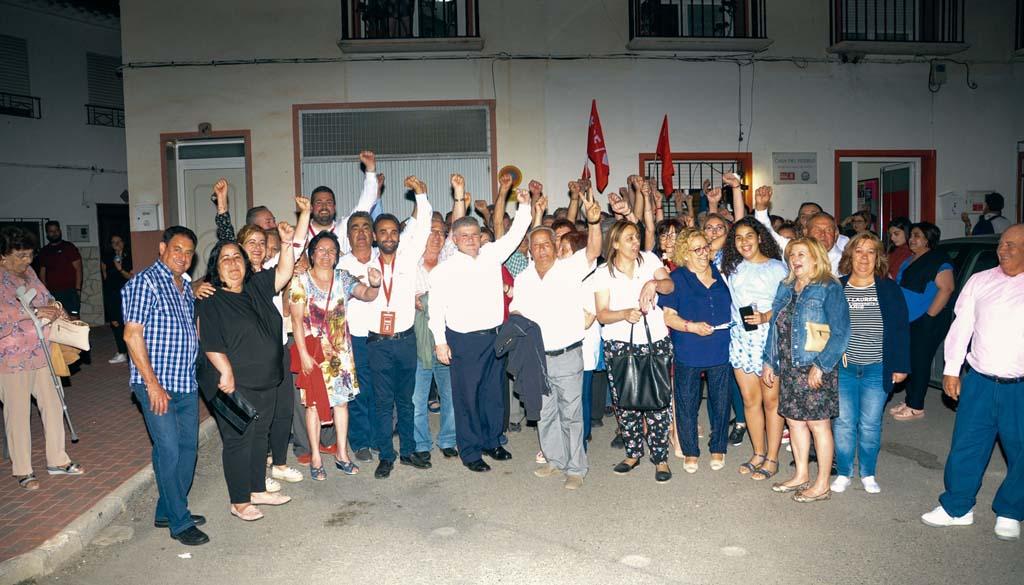 José Vélez gana con mayoría absoluta en Calasparra