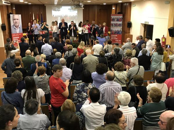 Presentación de la candidatura del PSOE de Moratalla