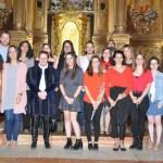 El claustro del antiguo convento de las Carmelitas alberga hasta este domingo 19 la exposición colectiva 'Icon Talents'