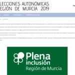 La Comunidad y Plena Inclusión ofrecen información accesible sobre las elecciones autonómicas a personas con discapacidad