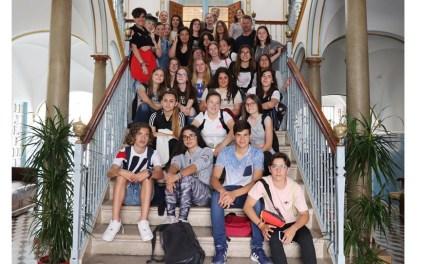 El Ayuntamiento de Cehegín recibe a un grupo de estudiantes alemanes de Bad Wildbad