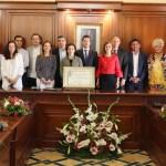 Ana Carrasco recibe el título de Hija Predilecta de Cehegín
