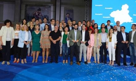 """López Miras: """"Presento a los candidatos más capaces, preparados y honrados para defender a la Región de Murcia"""""""