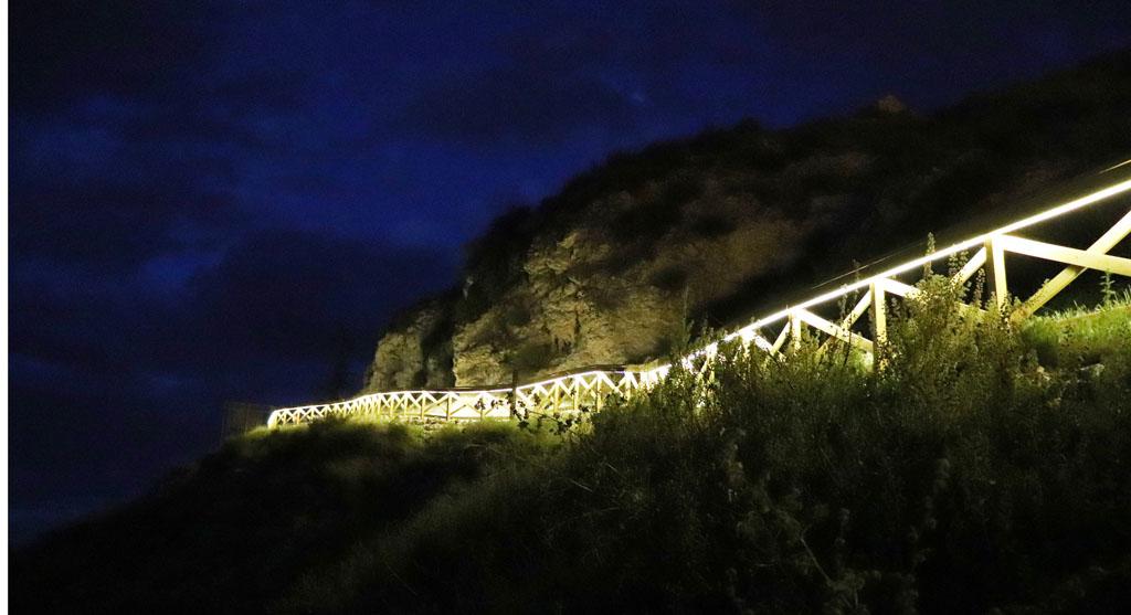 Acondicionada la senda que une las calles Cubo y Pozo del Casco Antiguo