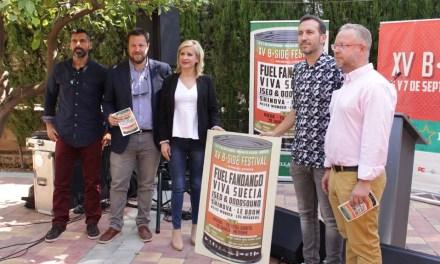 """Presentado el """"B-Side Festival"""", la cita musical del final de verano, en Molina de Segura"""