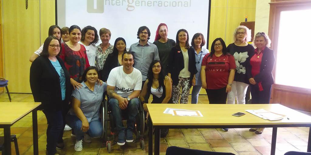 Entrega de diplomas en Mula del Curso de Atención a Personas Dependientes