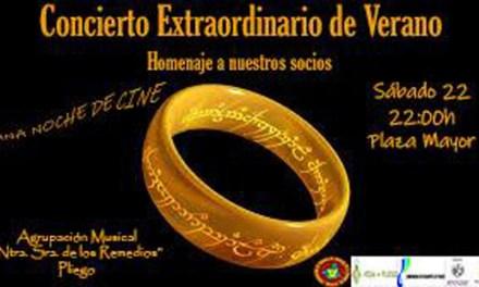 Concierto extraordinario de verano de la Agrupación Musical Nuestra Señora de los Remedios