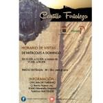 Desde el próximo viernes el Castillo Fortaleza de Moratalla estará abierto al público para las visitas turísticas