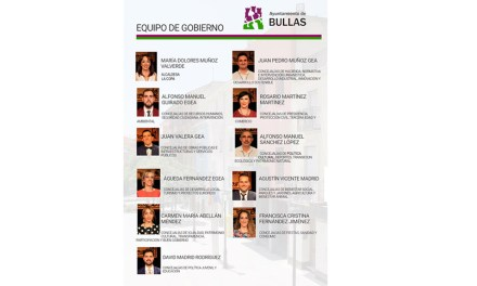 La lucha contra la despoblación marcará la legislatura de Bullas