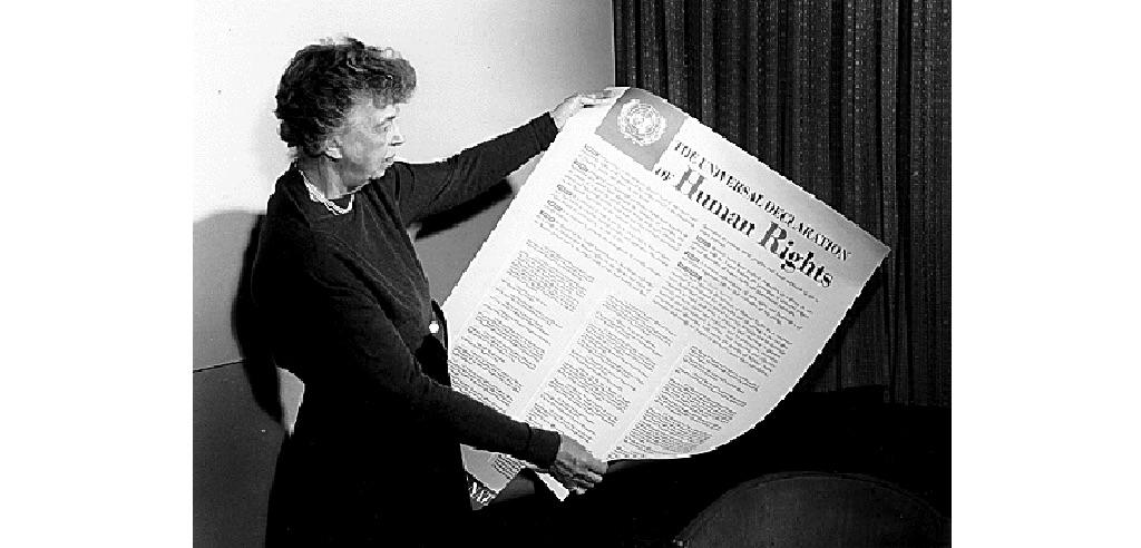 Eleanor Roosevelt, «mañana es ahora»