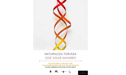 La Casa de Cultura de Bullas acoge la exposición 'Naturaleza Forjada' de José Soler