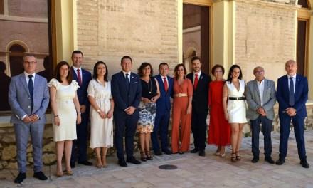 Juan Jesús Moreno presenta la estructura del gobierno de Mula