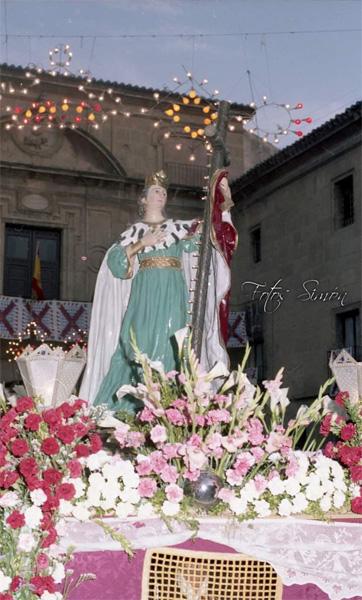 Santa Elena en los años 80