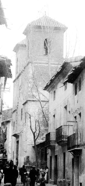 La iglesia de los jesuitas a comienzos del siglo XX