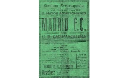 3 de mayo de 1933: Cuando el Madrid F. C. jugó en Caravaca