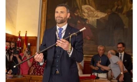 José Francisco García, elegido nuevo alcalde de Caravaca de la Cruz al conseguir la mayoría en la sesión de constitución de la Corporación municipal