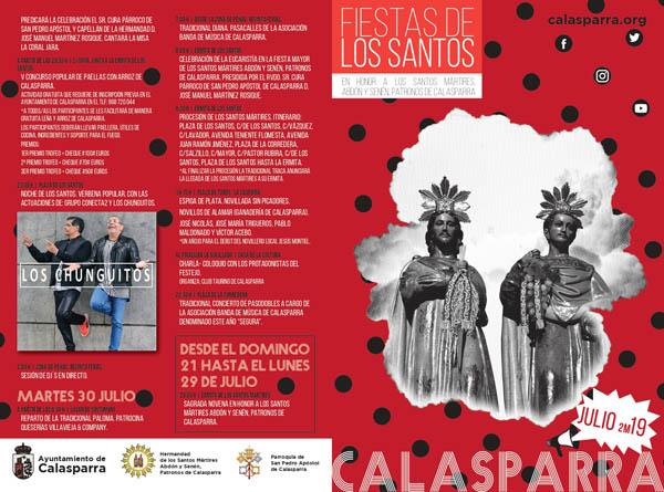 Calasparra se prepara para vivir sus fiestas más tradicionales, las dedicadas a San Abdón y San Senén