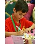 El ajedrecista Manuel Aroca, un talento precoz