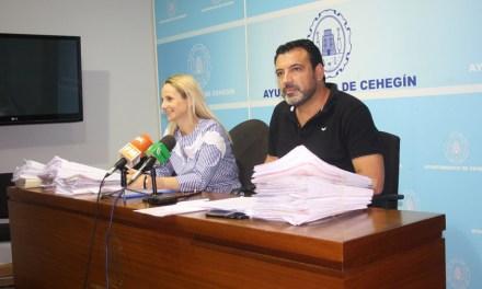 2,5 millones de euros de deuda por impago a proveedores deja el anterior gobierno socialista de Cehegín
