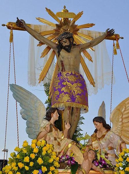 Actual Cristo del Consuelo, antiguo Cristo de la Buena Muerte de Caravaca