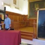 Miguel Ángel Ferrer 'Mista' cede al Ayuntamiento de Caravaca un retrato del siglo XIX atribuido al pintor caravaqueño Rafael Tegeo