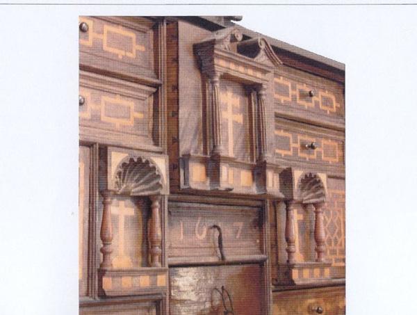 Detalle central del mueble