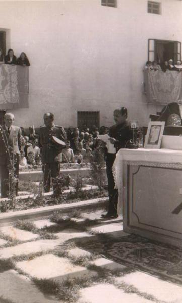 El alcalde Antonio Guerrero en la inauguración