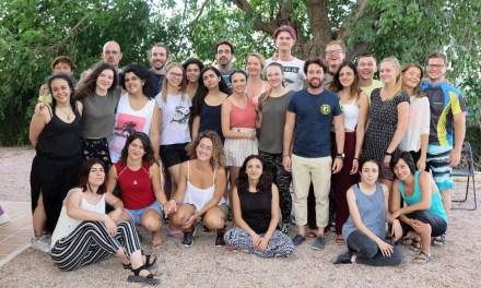 La pedanía caravaqueña de Los Prados, sede del encuentro 'Touch of life', en el que participan 25 jóvenes de distintos países europeos