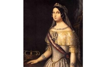 25 de Octubre de 1862: Regalo de Cruces de Caravaca a la reina Isabel II