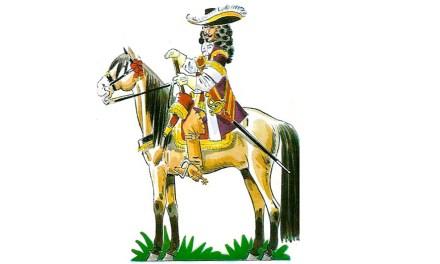 Una estampa del setecientos. Abril de 1672: Llegada a Caravaca del Conde de Puño en Rostro