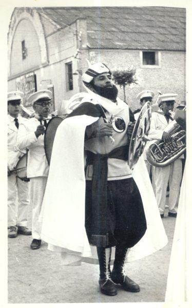 Pedro Rubio en 1960