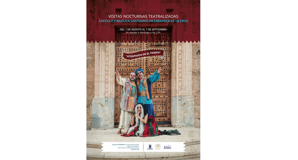Caravaca viaja en el tiempo con la quince edición de las visitas nocturnas teatralizadas