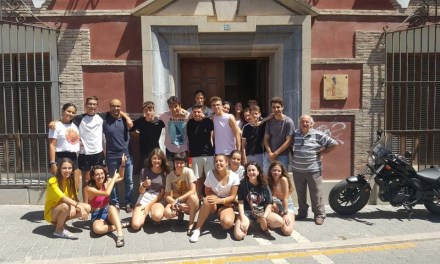 Veinticuatro jóvenes de toda España realizan un campo de trabajo relacionado con el Medio Ambiente en Bullas, Calasparra y Cehegín