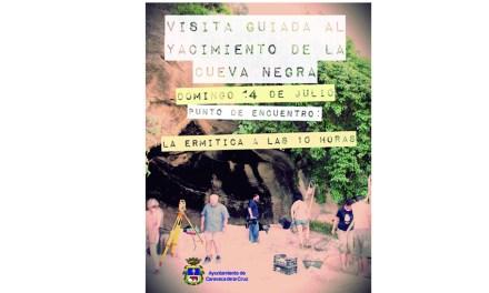 El yacimiento de la Cueva Negra de La Encarnación celebra puertas abiertas este domingo