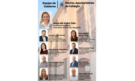 La alcaldesa de Cehegín, Alicia del Amor, da a conocer la distribución de concejalías