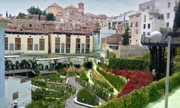 Estrategias bioclimáticas en el urbanismo: el jardín del Coso