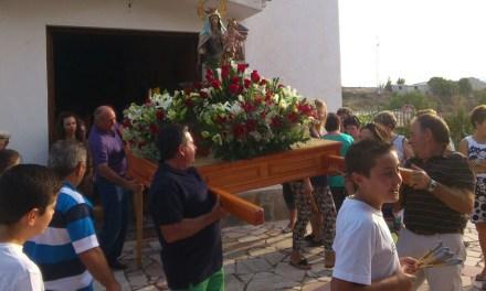 La Carrasquilla celebra sus fiestas en honor a la Virgen del Carmen
