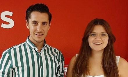Ana Caballero sustituirá a Juan Carlos Castillo Abril en la Secretaría General de Juventudes Socialistas de Caravaca de la Cruz
