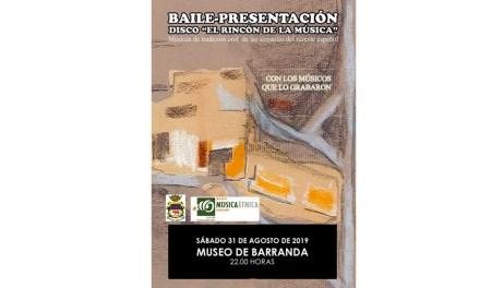La programación cultural de verano del Museo de la Música de Barranda se cierra con el baile-presentación del disco 'El Rincón de la Música'