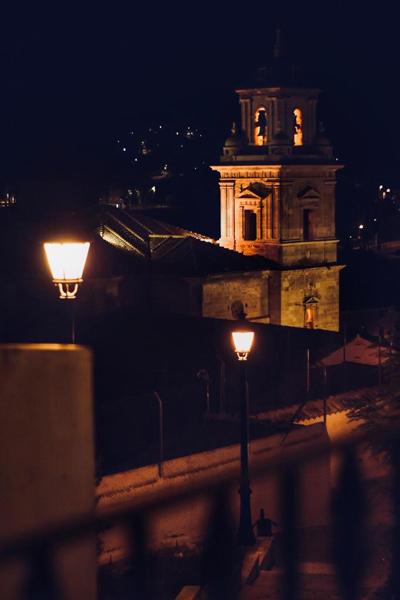 El Salvador de noche