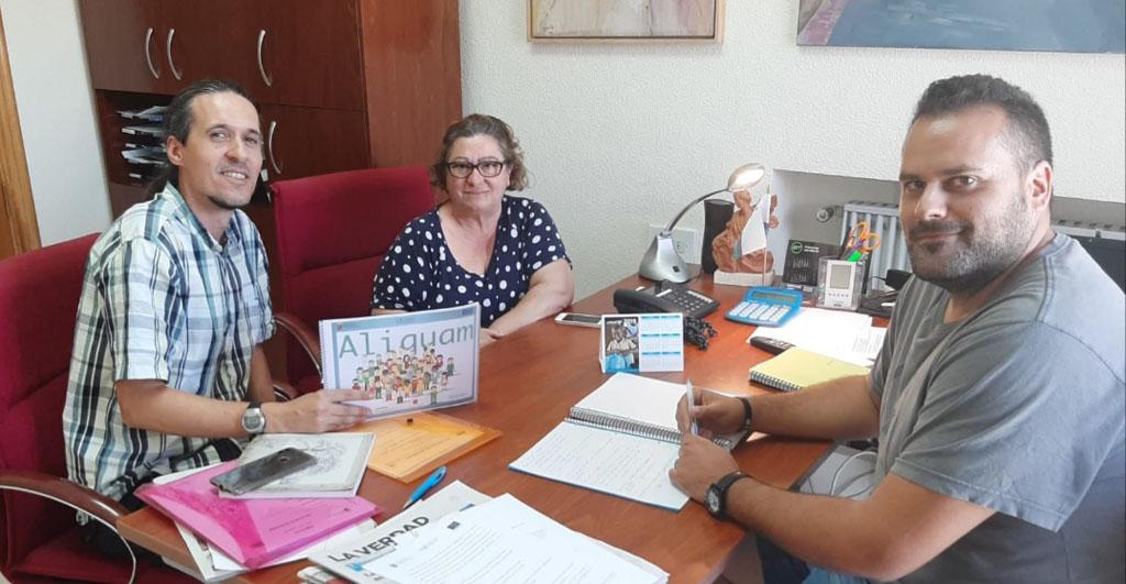 El programa Aliquam continua fomentando la empleabilidad en Bullas
