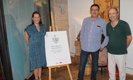 El Museo del Vino acoge una exposición sobre la centenaria Bodega García Noguerol