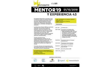 Programa Mentor 19. Encuentros con emprendedores