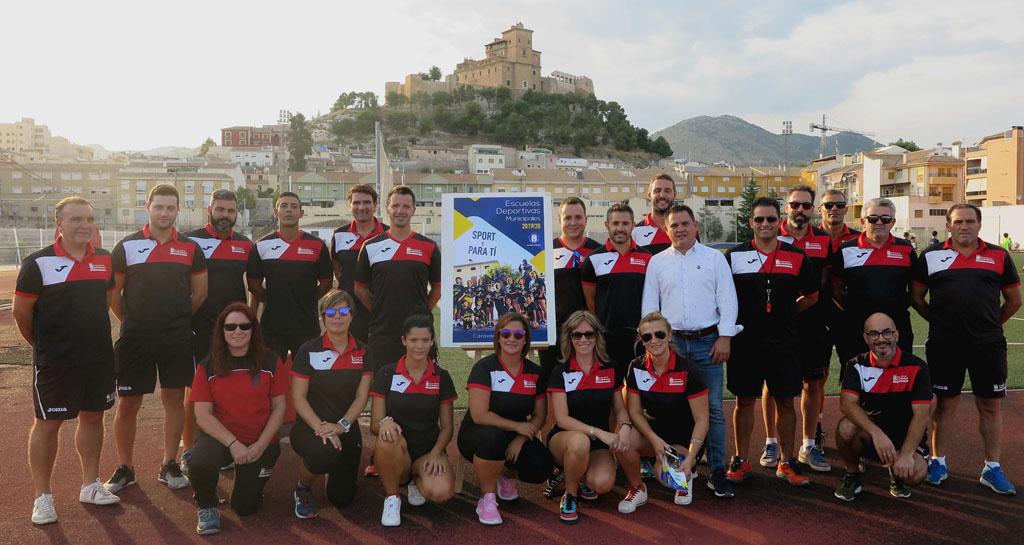 La Concejalía de Deportes arranca el curso con la presentación de las 'Escuelas Deportivas Municipales'