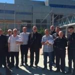 La cárcel de Campos del Río celebra la fiesta de la Virgen de la Merced