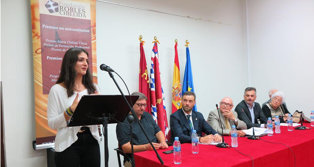 La Fundación Robles Chillida premia la trayectoria académica de 16 estudiantes caravaqueños de Bachillerato, Formación Profesional y Primaria
