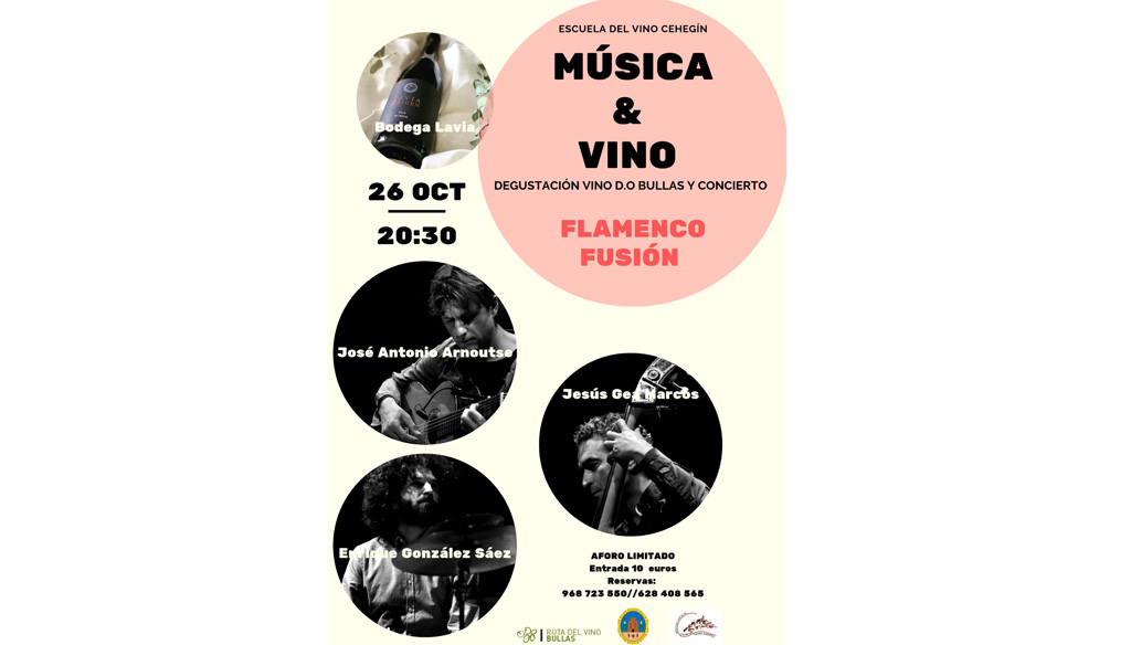 """Llega de nuevo a Cehegín la actividad """"Música y Vino"""""""