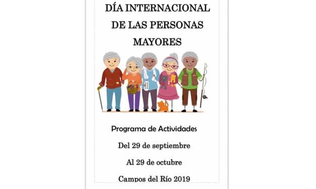 Actividades para los mayores hasta el próximo 29 de octubre en Campos del Río